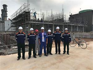 Tổng công ty ĐTPT Nhà và Đô thị BQP kiểm tra công trình NH3 Phú Mỹ do Công ty MHDI 10 thi công