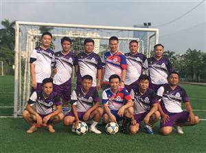 Công ty MHDI 10 vô địch môn bóng đá nam Giải thể thao chào mừng 29 năm Ngày truyền thống Tổng công ty ĐTPT Nhà và Đô thị BQP