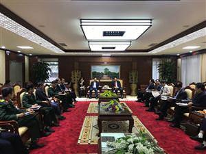 Công ty MHDI 10 phối hợp cùng Chủ tịch Tập đoàn KIC (Hàn Quốc) làm việc tại Hải Dương