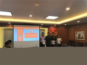 Ngày 06/09/2018, Chi bộ Công ty MHDI 10 đã tổ chức Lễ kết nạp Đảng viên mới