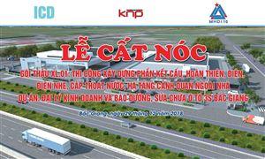 Công ty MHDI 10 tổ chức lễ cất nóc Dự án Đại lý kinh doanh và bảo dưỡng, sửa chữa ô tô 3S Bắc Giang.