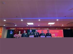 Công ty MHDI 10 đã tổ chức trao khen thưởng cho các cá nhân và tập thể năm 2020