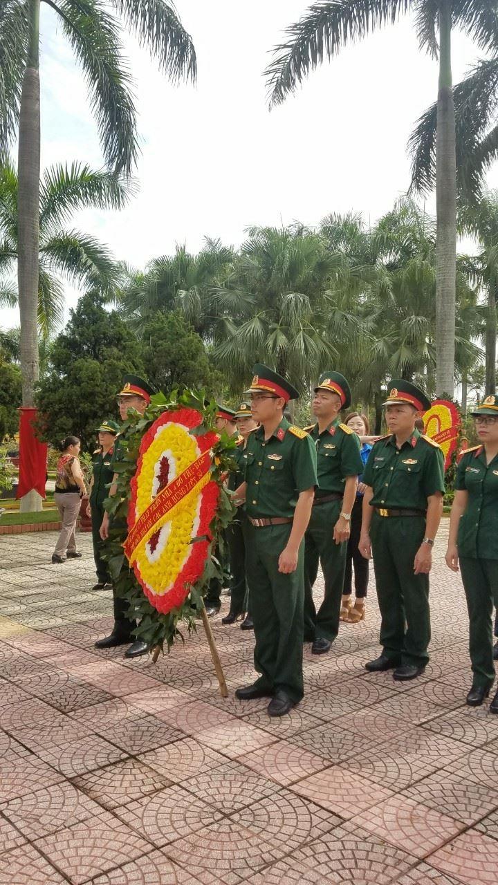 Thắp hương tri ân nhân kỷ niệm 71 năm ngày Thương binh Liệt sĩ (27/07/1947–27/07/2018) và kỷ niệm 50 năm ngày Chiến thắng Đồng Lộc (24/07/1968 – 24/07/2018)