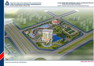 Trung tâm Thương Mại - Dịch vụ thôn Đông Thành, xa Đông Xã, huyện Vân Đồn, tỉnh Quảng Ninh