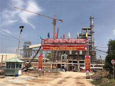 Công trình thi công nâng cấp Nhà máy NH3 - Phú Mỹ - Vũng Tàu